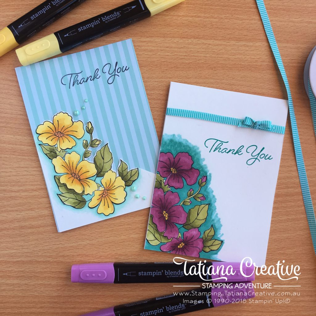 Facebook Live Stampin Blends Tatiana Creative