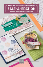 Sale-A-Bration 2nd Release Catalogue 2018 Tatiana Creative Stamping Adventure