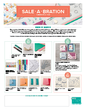 Sale-A-Bration 3rd Release Catalogue 2018 Tatiana Creative Stamping Adventure