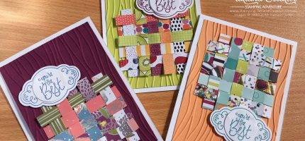 Weave cards using DSP Cut Offs