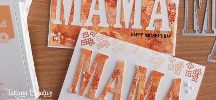 Mother's Day Orange Flowers