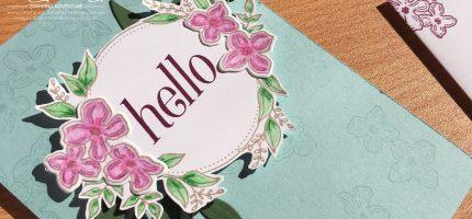 Floral Hello