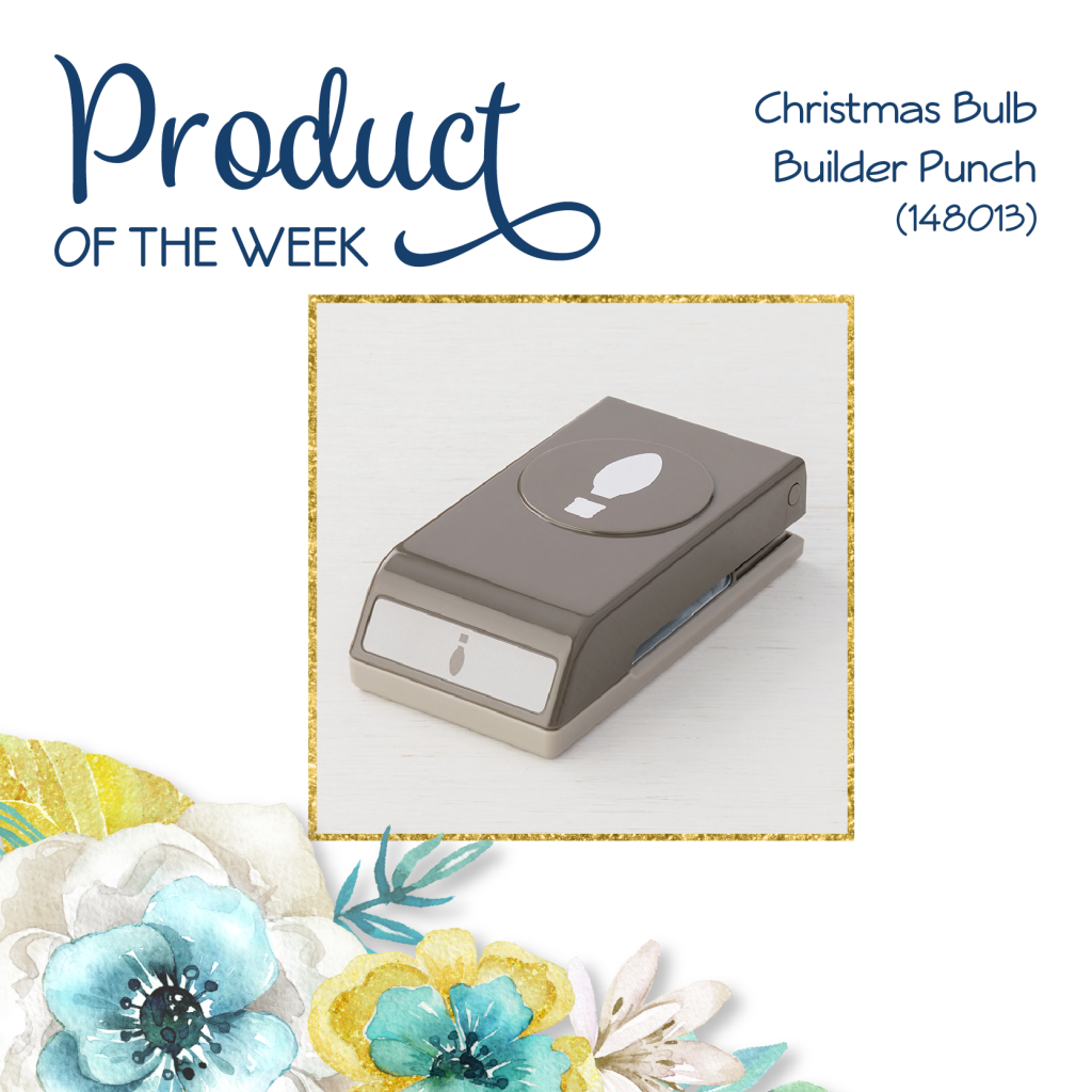 Product Of The Week - Christmas Bulb Builder Punch