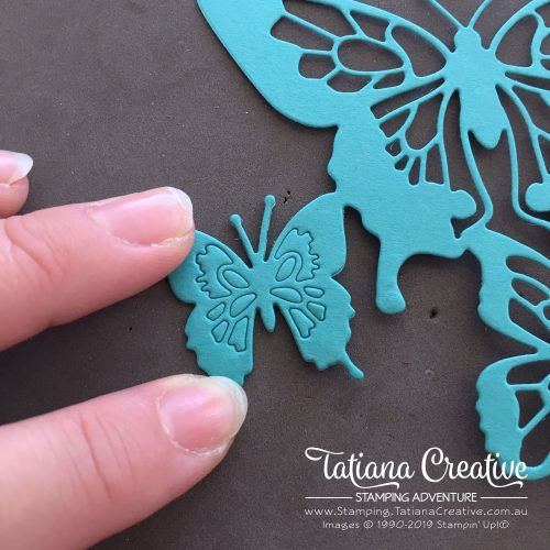 Tips for getting a stain glass window look from your die cuts