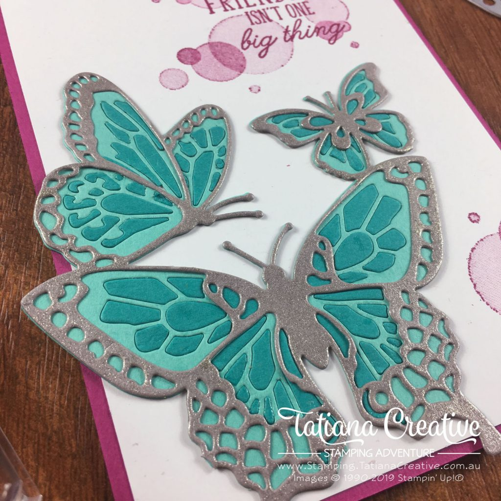 Tatiana Creative Stamping Adventure - Friendship Card using the Beauty Abound bundle by Stampin' Up!®