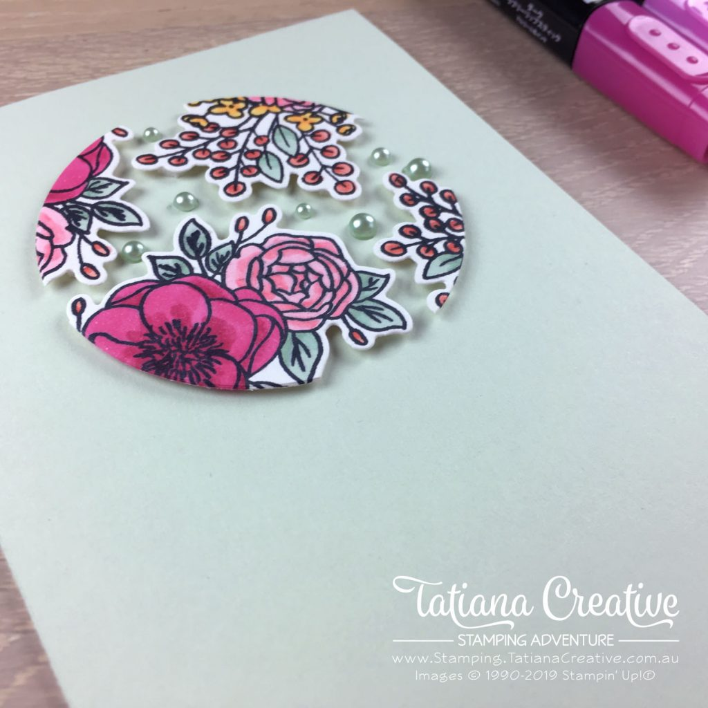 Tatiana Creative Stamping Adventure - two in one Floral Floating Frame card using the Bloom & Grow Bundle by Stampin' Up!®