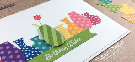 Bright Birthday Vases
