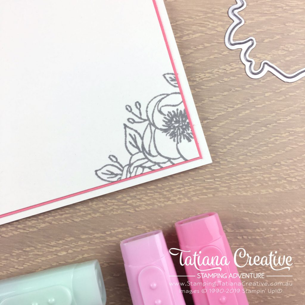 Tatiana Creative Stamping Adventure - Encouraging card using the Bloom & Grow stamp set by Stampin' Up!®