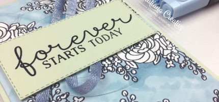 Creativity Time – Stamp & Colour a Background