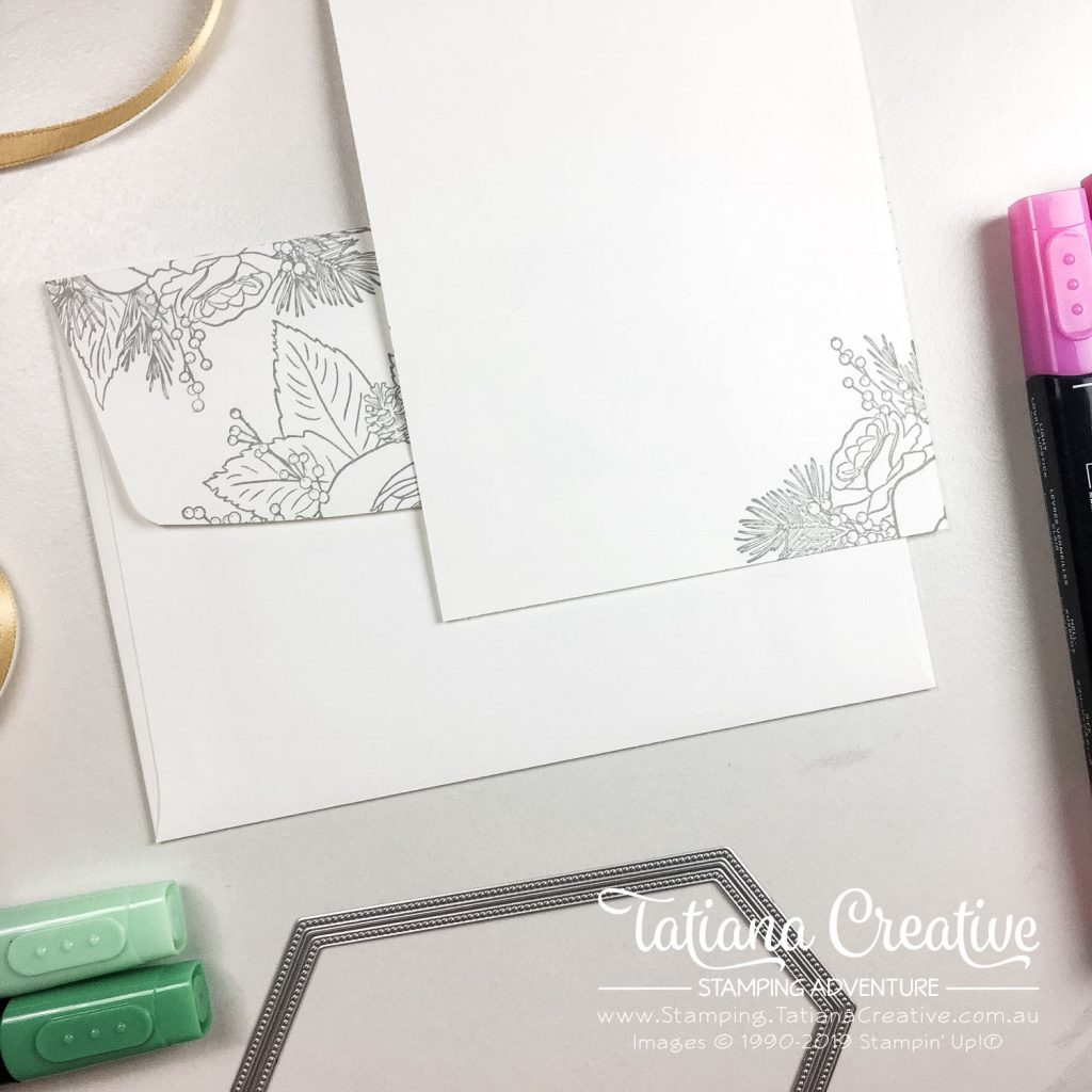 Tatiana Creative Stamping Adventure - Peace & Joy Christmas Card using the Christmas Rose stamp set from Stampin' Up!®
