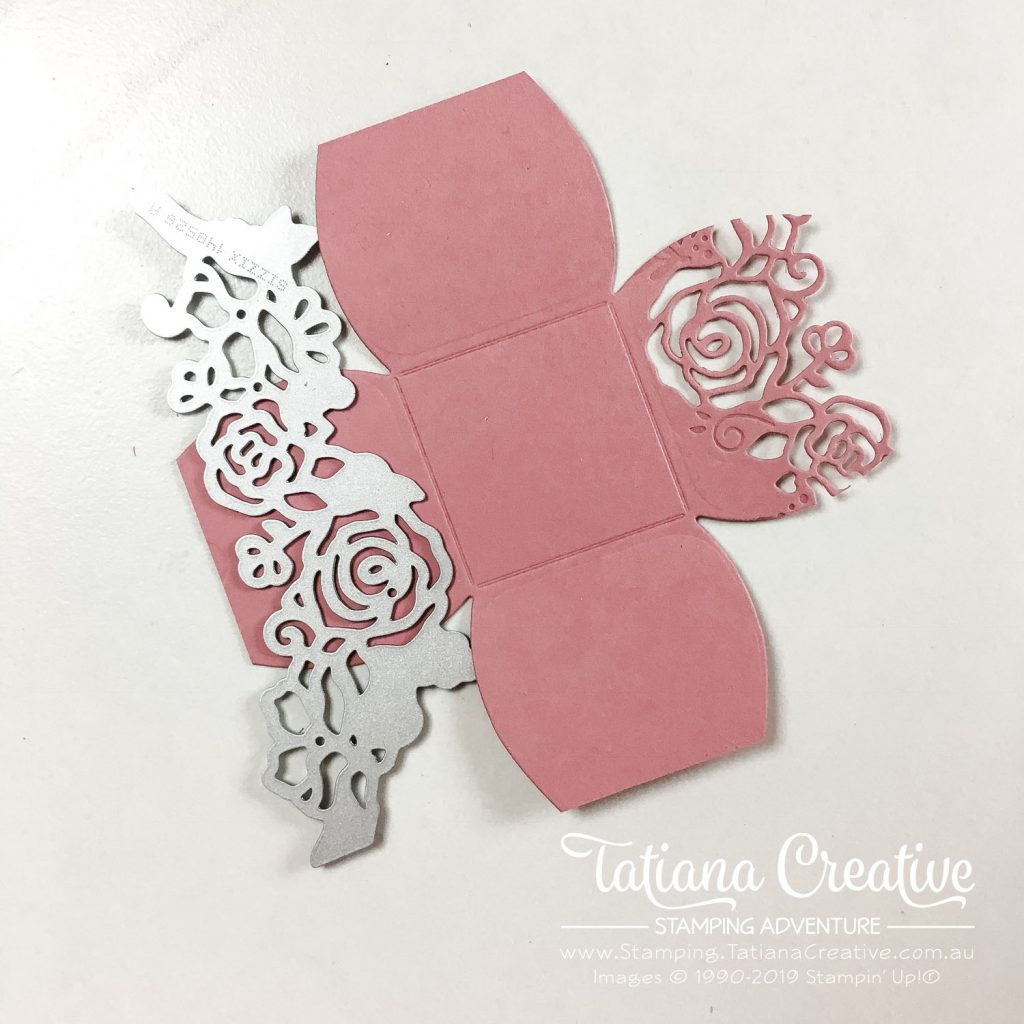 Tatiana Creative Stamping Adventure - OnStage Nov 2019 Table Treat using the Mini Curvy Keepsake Box Dies and the Lovely Florals Dies both by Stampin' Up!®