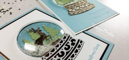 Creativity Time – Christmas Snow Globe Cards