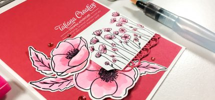 Creativity Time – Pink Poppies