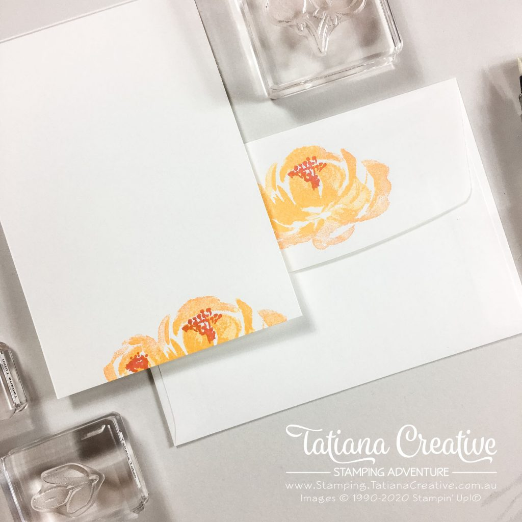 Tatiana Creative Stamping Adventure - Floral card using the Beautiful Friendship stamp set by Stampin' Up!®
