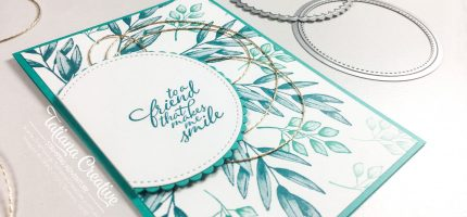 Creativity Time – Offset Wreath Background