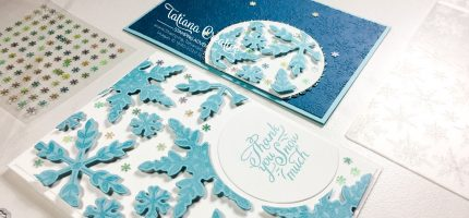 Creativity Time – Snowflake Wishes Floating Frame