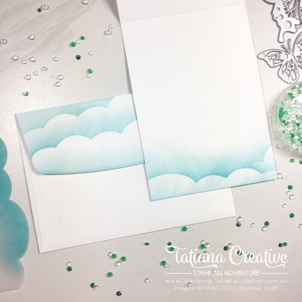 Tatiana Creative Stamping Adventure - Glimmer Butterfly card using Butterfly Beauty Dies from Stampin' Up!®