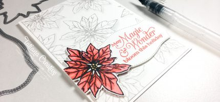 Creativity Time – Stampin' Blends Poinsettia