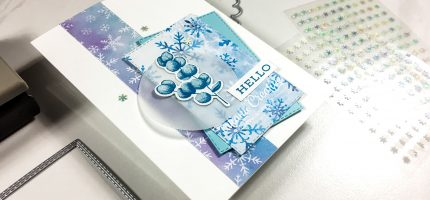 Hello Snowflake Card