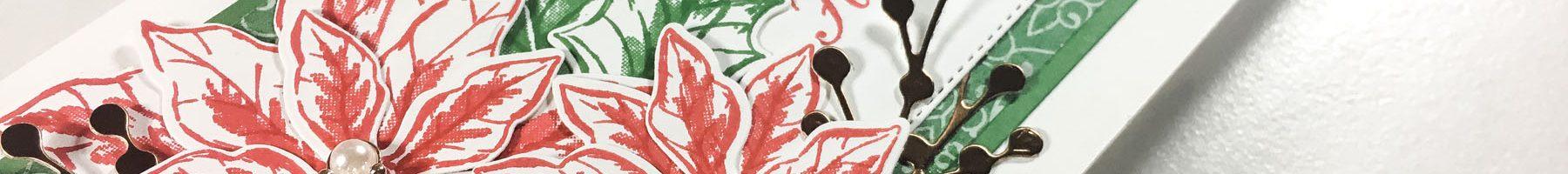 Poinsettia Place Slimline – Fantastic Fun Folds
