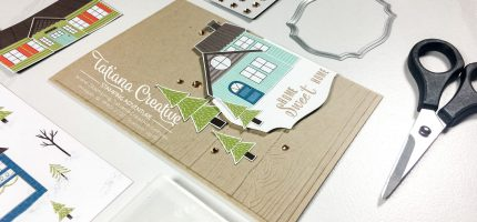 Trimming The Town Housewarming Card