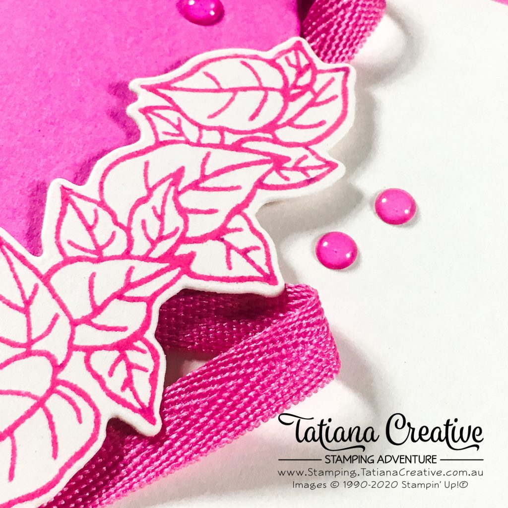 Tatiana Creative Stamping Adventure - October 2020 In Color Club Just For You card using Quite Curvy Bundle from Stampin' Up!®