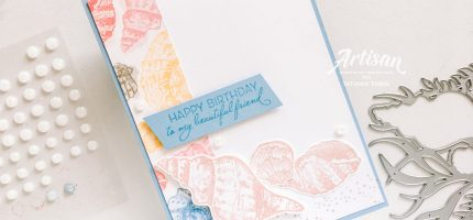 Birthday Card using Friends Are Like Seashells Stamp Set