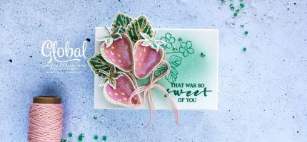 Sweet Strawberry Bundle – Global Creative INKspirations