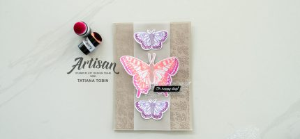 Butterfly Brilliance Oh Happy Day! Card with Video
