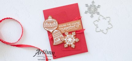 Gingerbread & Peppermint Fun Card with Video